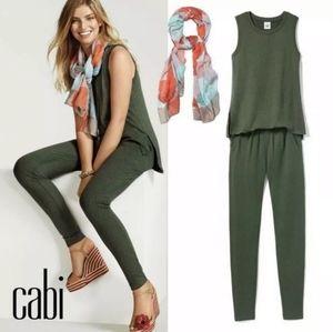 Cabi | EUC Olive Green Playsuit Jumpsuit #5372